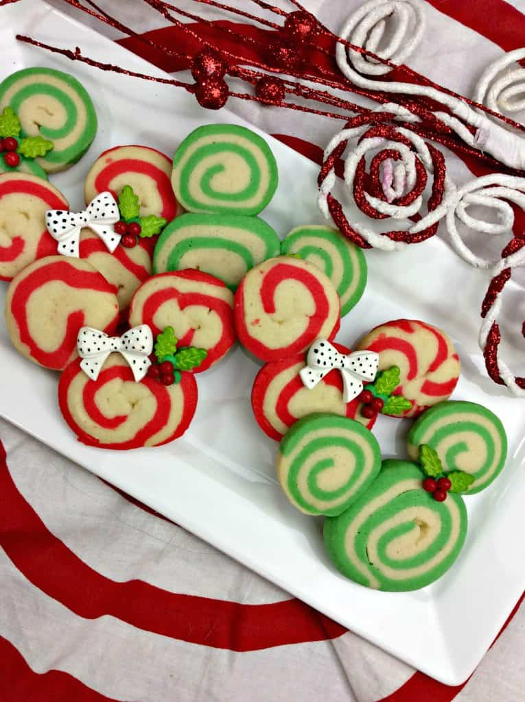 A decorated cookie on a plate
