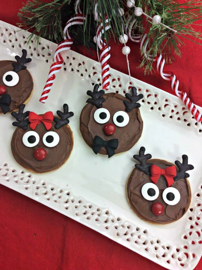 These Reindeer Sugar Cookies Will Put A Smile On Everyones Face