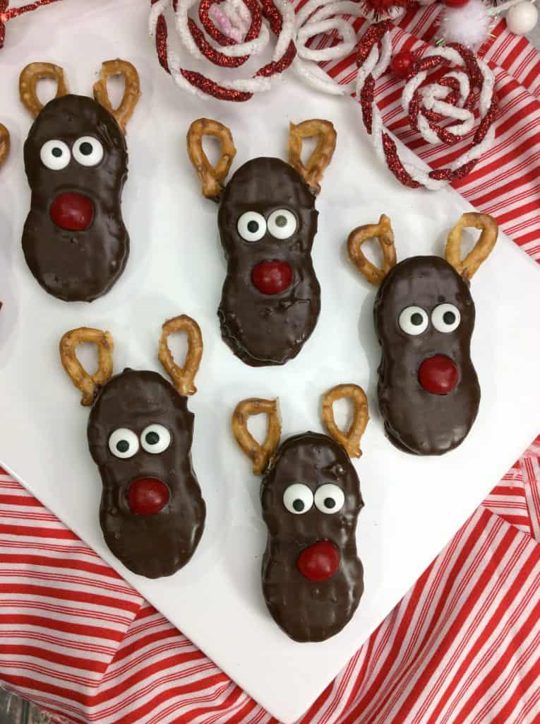 Holiday Nutter Butter Reindeer Treats