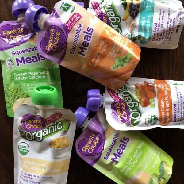 5 Reasons I love Parent's Choice Food Pouches