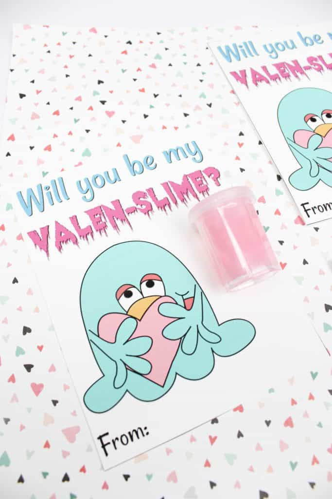 Will you be my Valen-Slime Printable