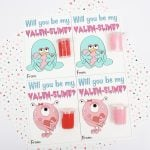Valentine Slime Printable Card