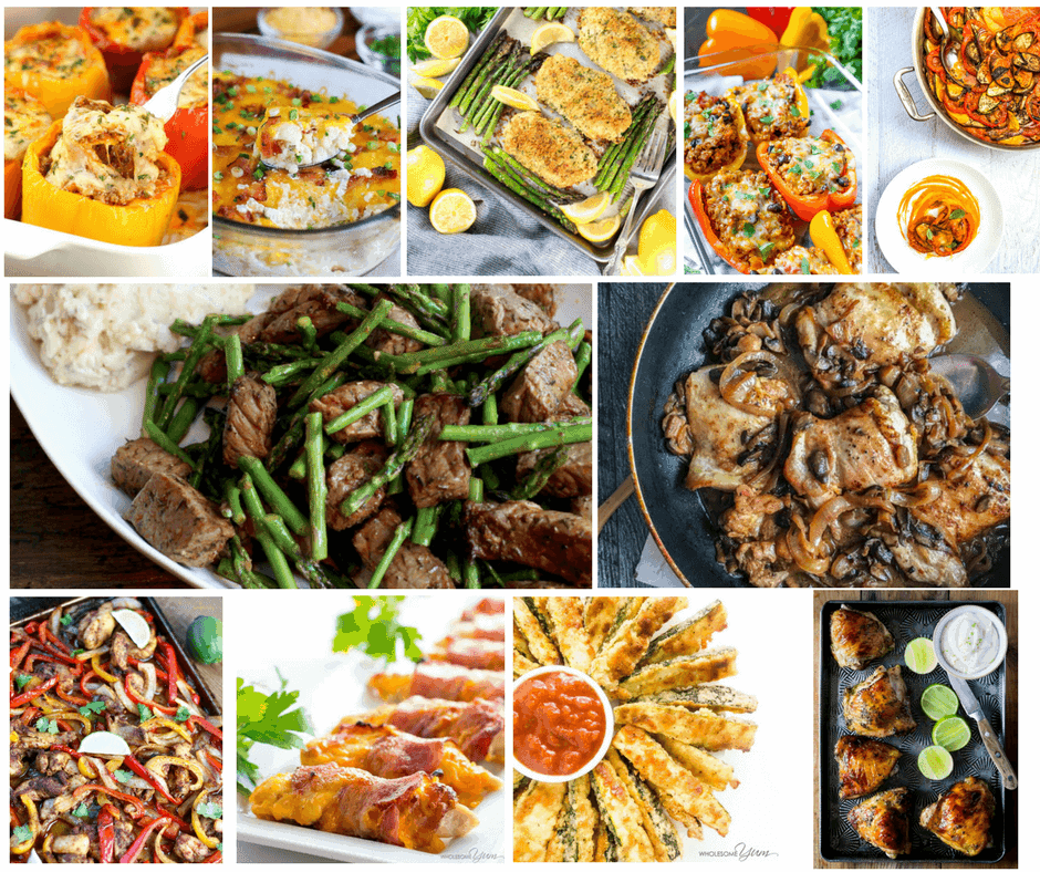 80 Low Carb Recipes