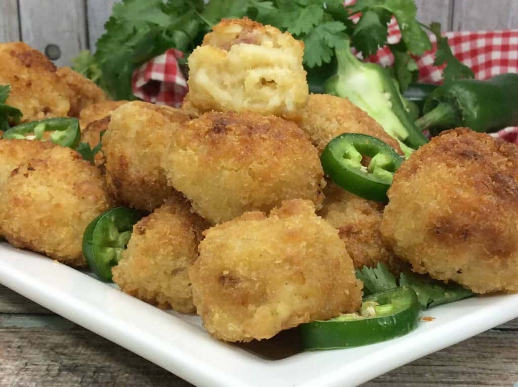 Air Fryer Mac and Cheese Balls