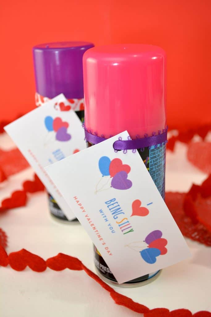 Silly String Valentine Free Printable