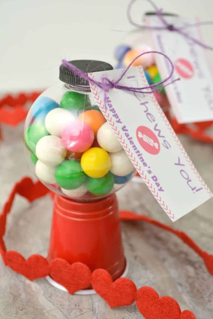 I Chews You Valentine Craft and Free Printable