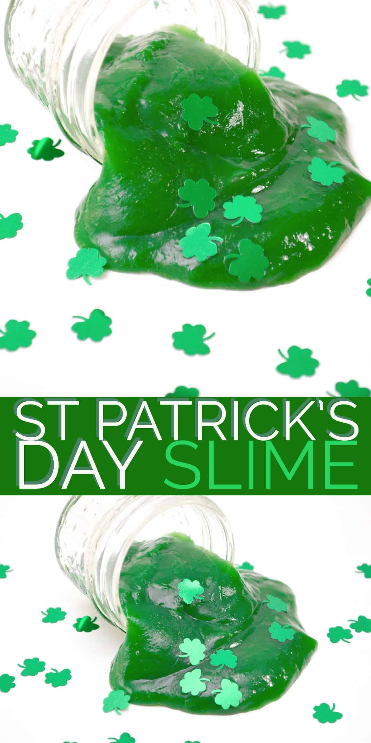St Patrick's Day Slime