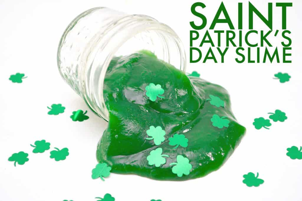 slime and Saint Patrick\'s Day