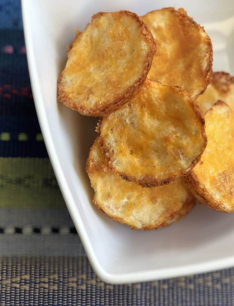 Cheesy Low Carb Cauliflower Cheese Bites