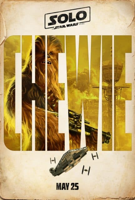 Chewbacca and Star Wars