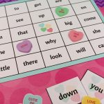 Valentine's Day Sight Word Bingo Printable