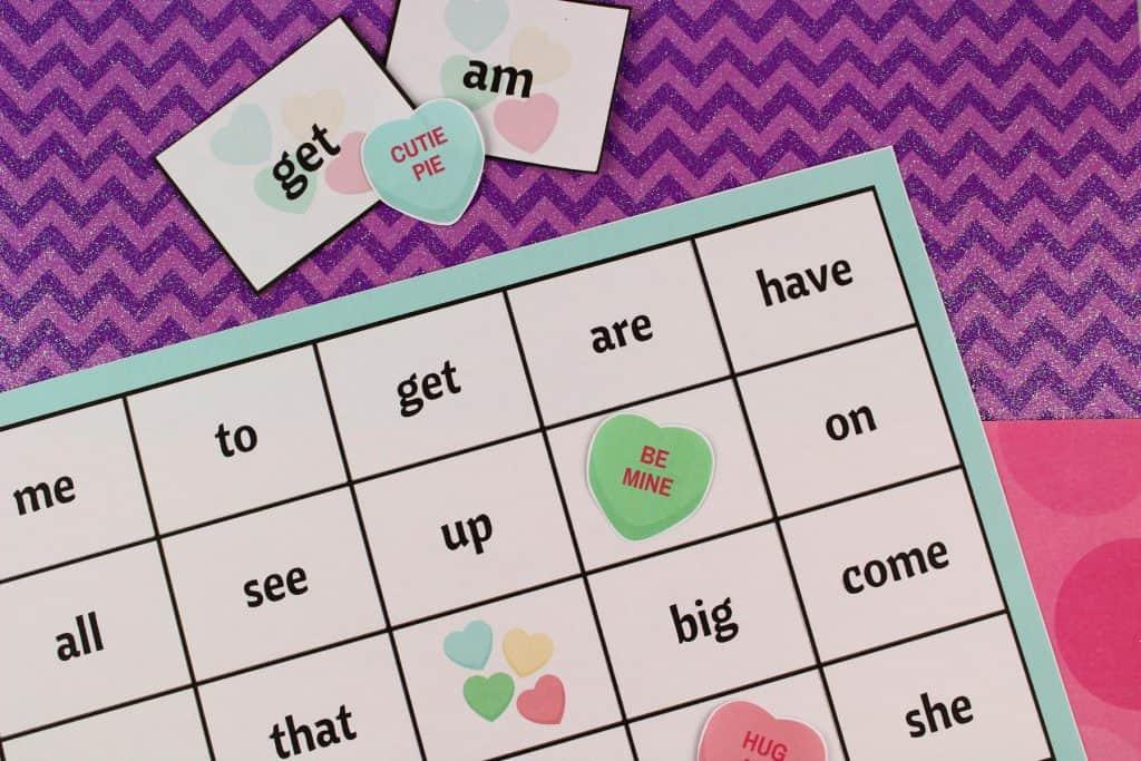 Bingo and Sight word