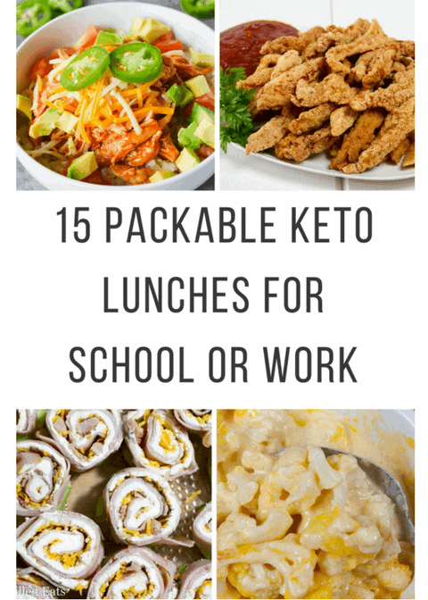 Keto Lunches for School or work
