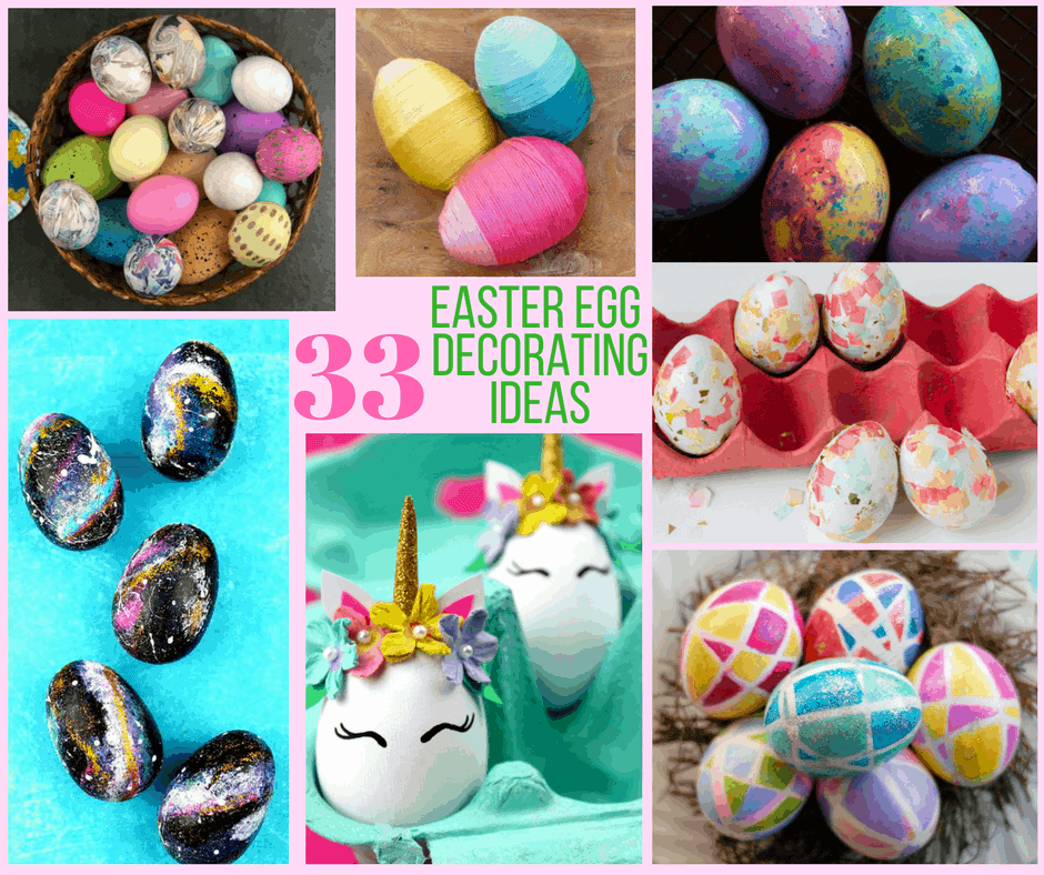 A sparkle of genius Creative easter egg decorating ideas
