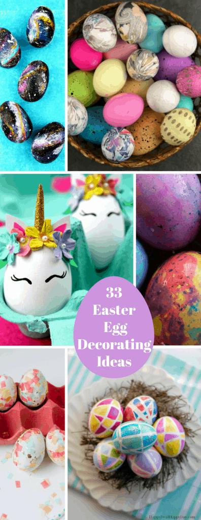 Creative DIY Easter Egg Decorating Ideas & 33 Creative DIY Easter Egg Decorating Ideas- Decorating Easter Eggs
