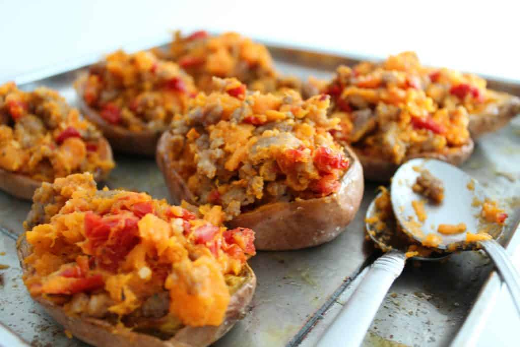 A close up of food, with Sweet potato