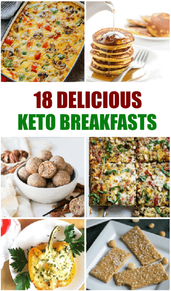 18 Delicious Keto Breakfasts