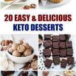 20 Keto Easy Dessert Recipes