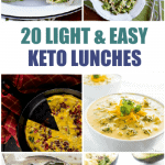 20 Light and Easy Keto Lunches