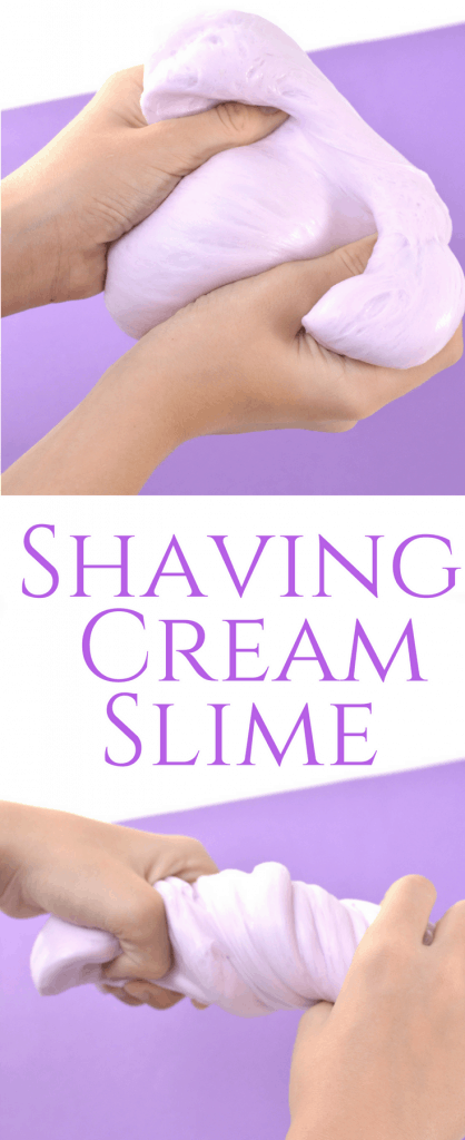 Shaving Cream Slime