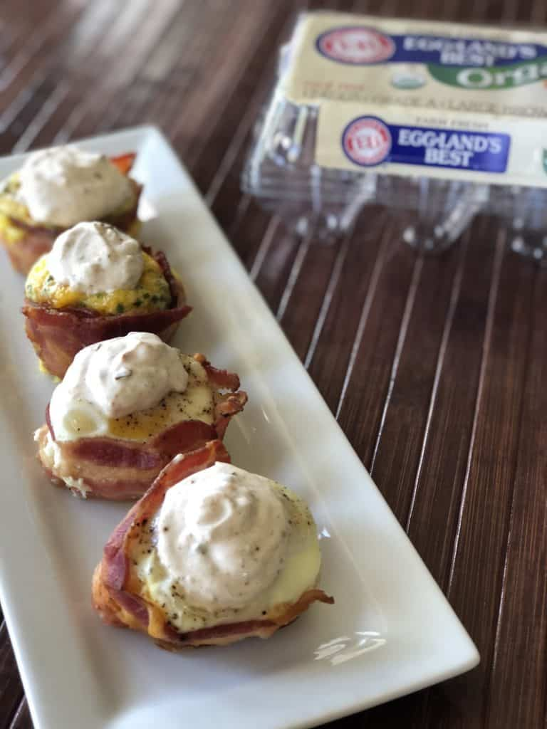 Southwestern Keto Bacon and Egg Cups