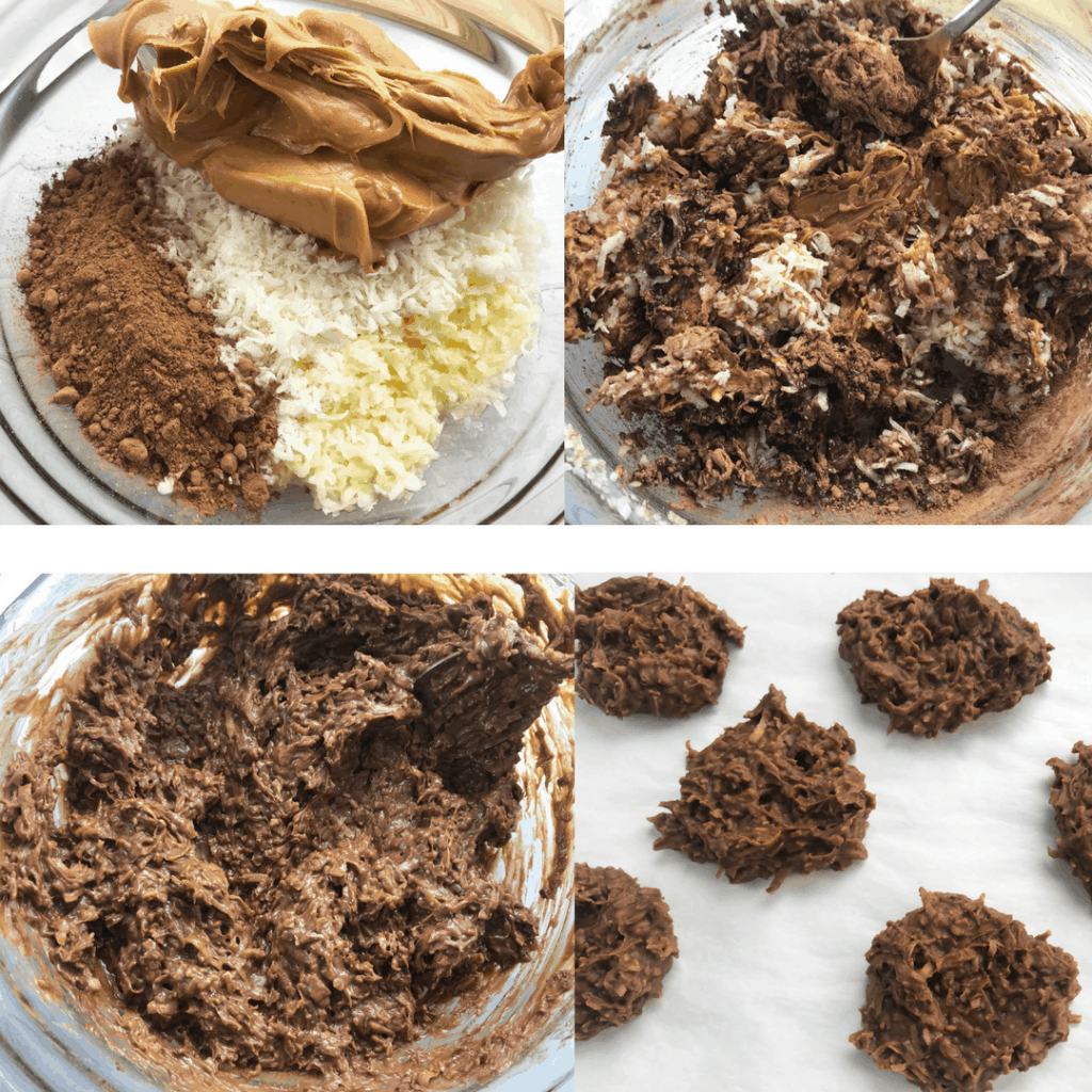 Keto No Bake Cookie