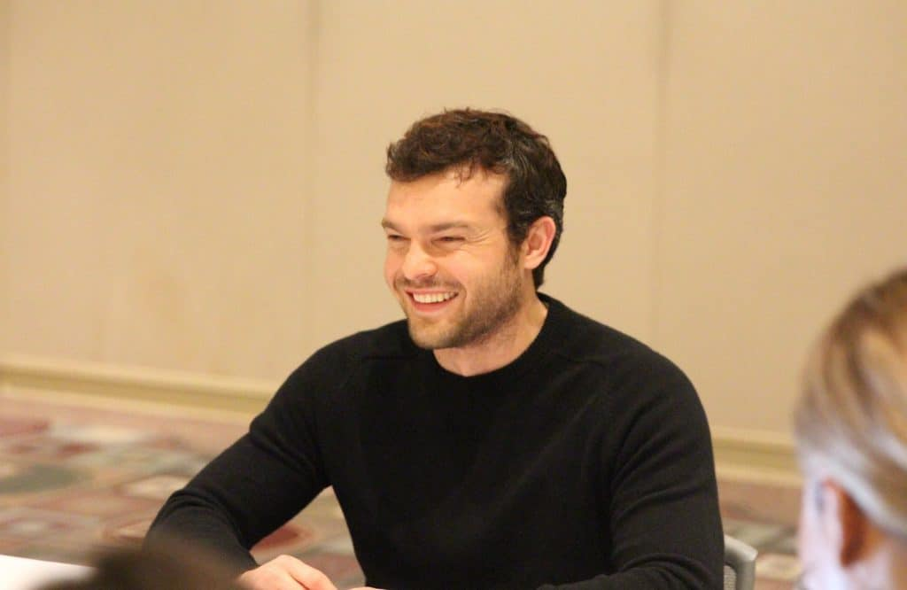 Solo: A Star Wars Story Interview with Alden Ehrenreich