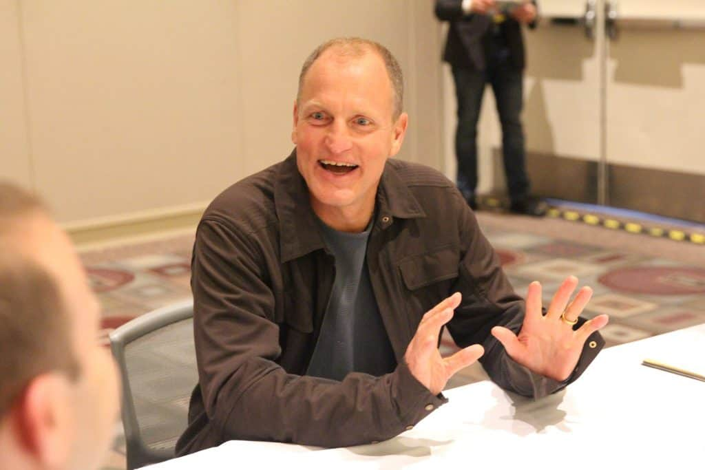 Solo: A Star Wars Story Interview with Woody Harrelson as Beckett
