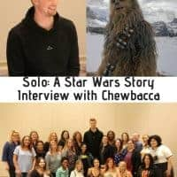 Solo: A Star Wars Story Interview with Chewbacca
