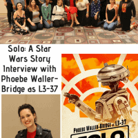 Solo: A Star Wars Story Interview with Phoebe Waller-Bridge as L3-37