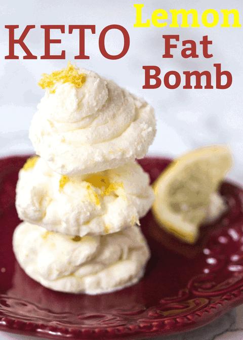Keto Lemon Fat Bomb