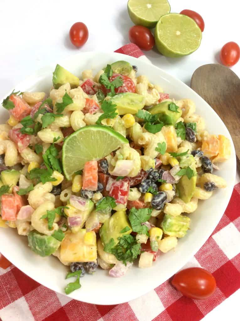 ww mexican pasta salad