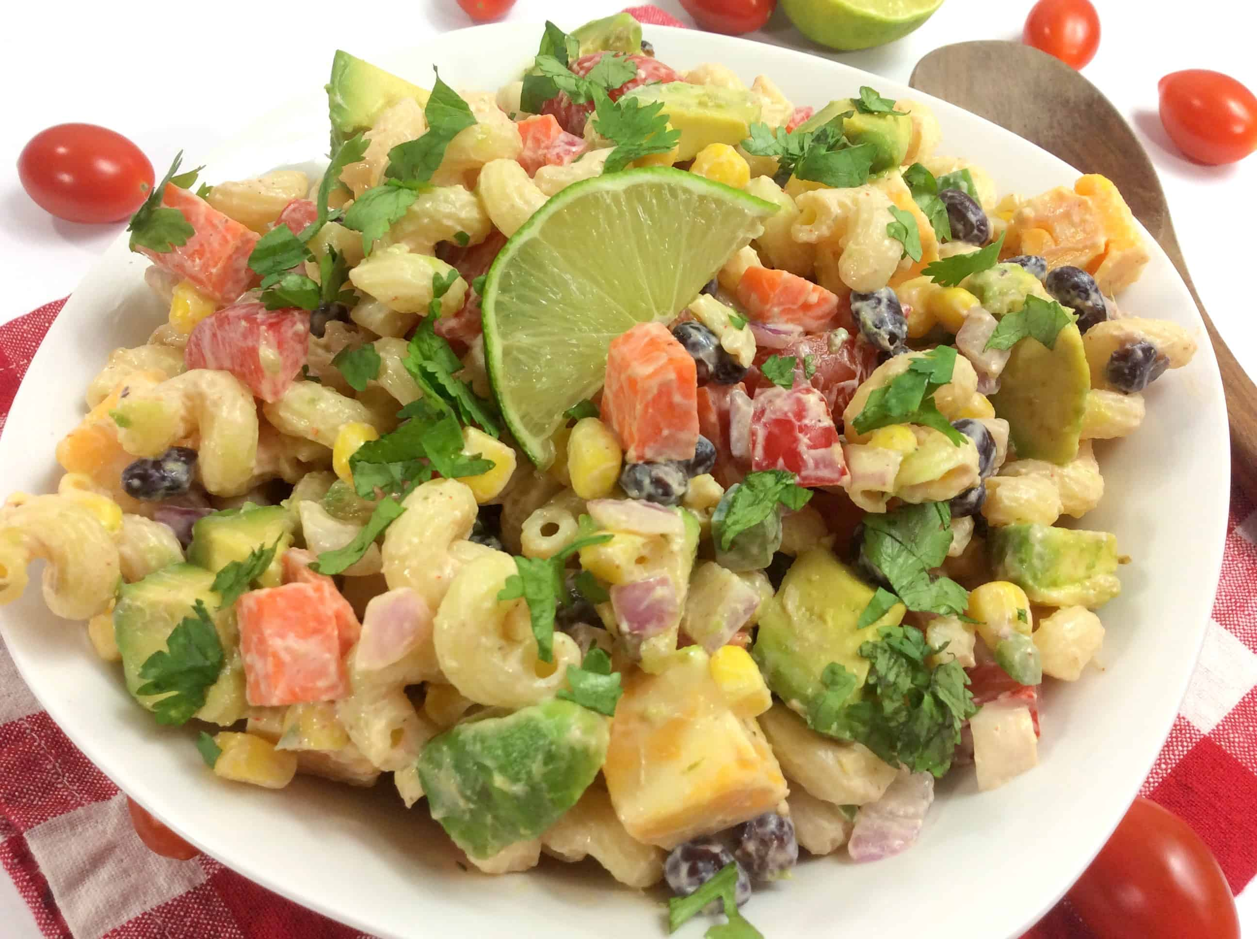 weight watchers mexican pasta salad