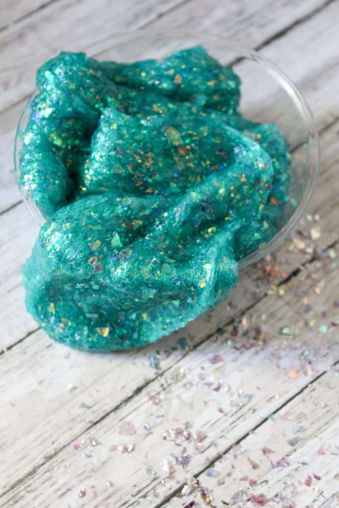 Mermaid slime for kids