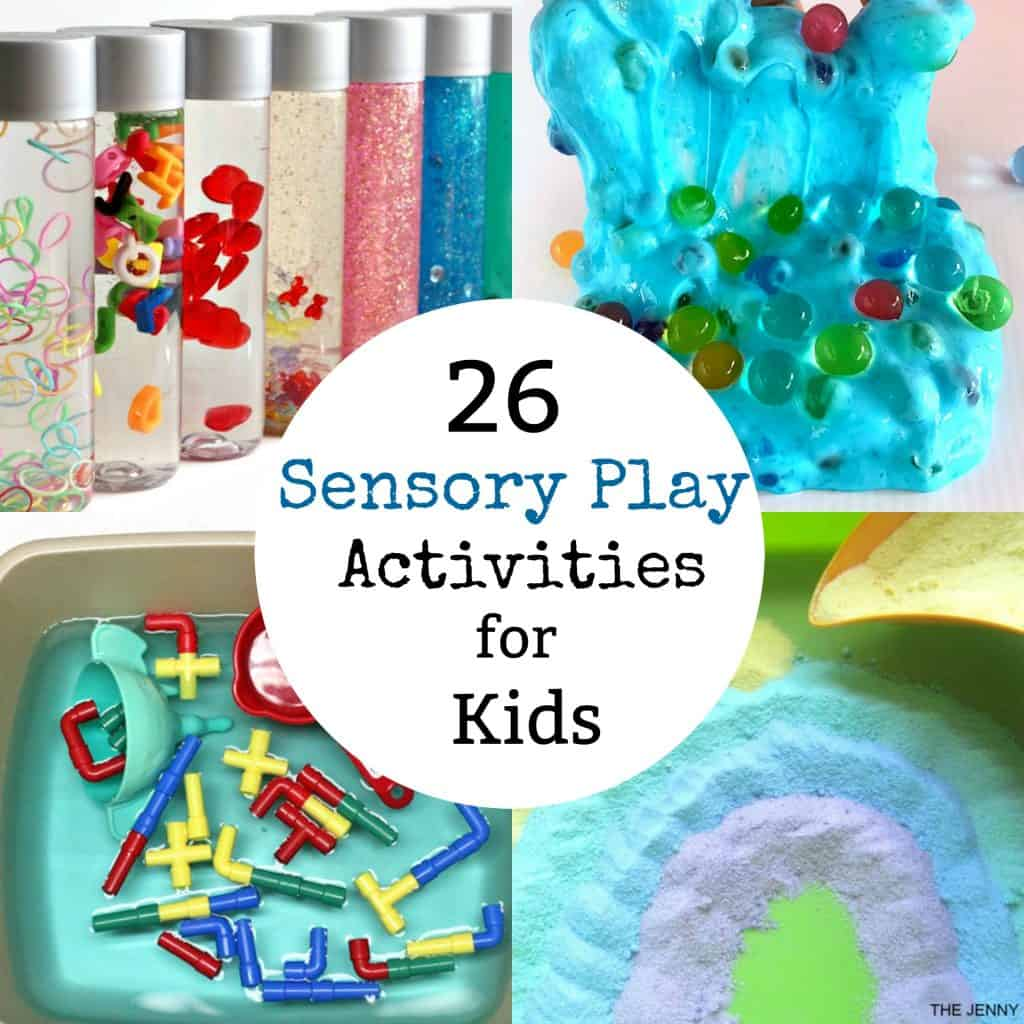 26 sensory play Activities for Kids
