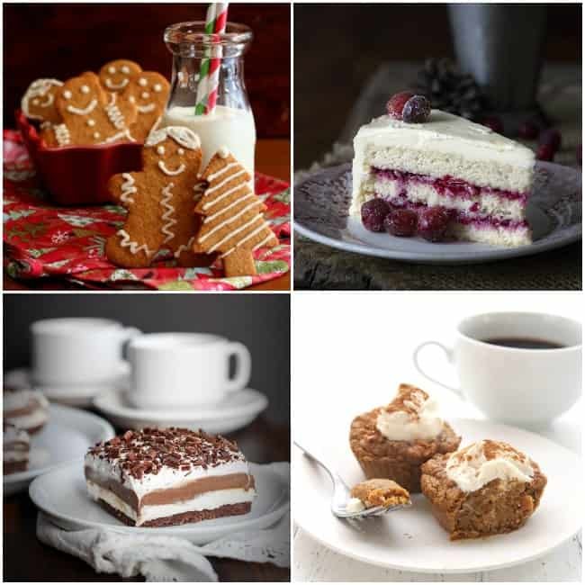 A bunch of different types of food on a plate, with Chocolate and Cake
