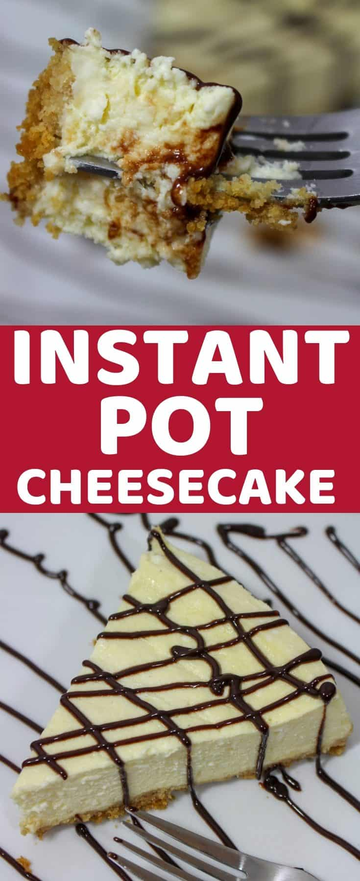 Easy Instant Pot Cheesecake