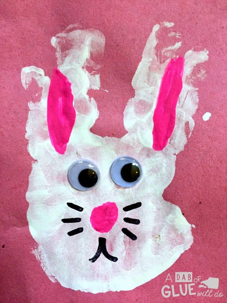 Easter Handrint and Footprint Keepsake