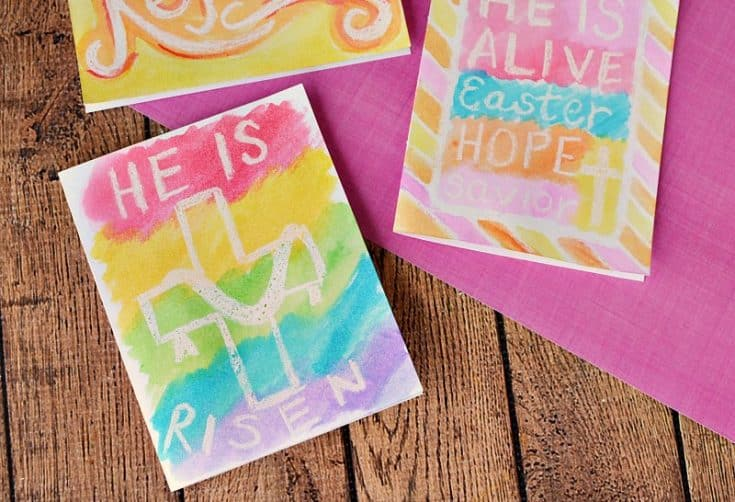 Easy Handmade Easter Cards with Watercolors