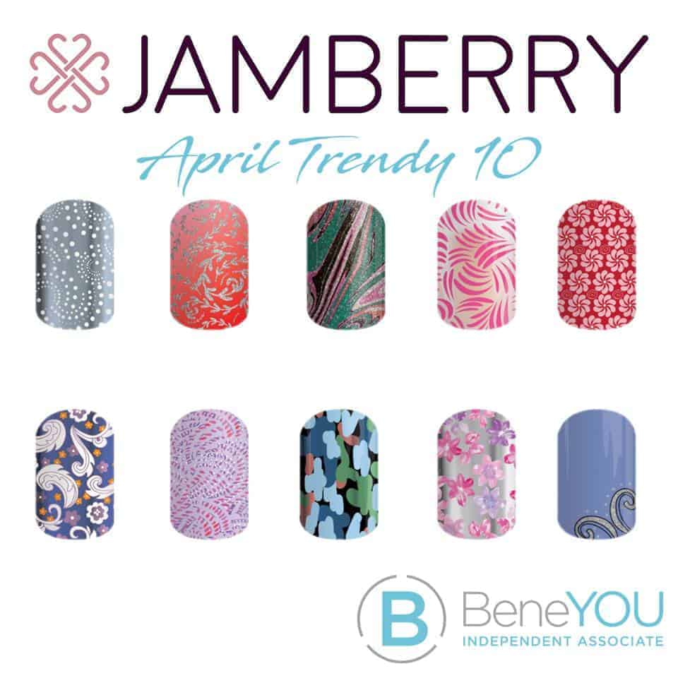 Jamberry April Trendy 10
