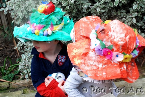 Easy Easter Bonnet Craft Ideas for Kids and Preschoolers - Red Ted Art's Blog