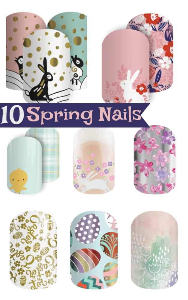 10 Easter Jamberry Nails perfect for Spring