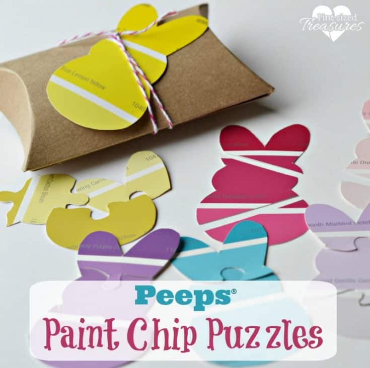 Easy Peeps® Paint Chip Puzzles · Pint-sized Treasures