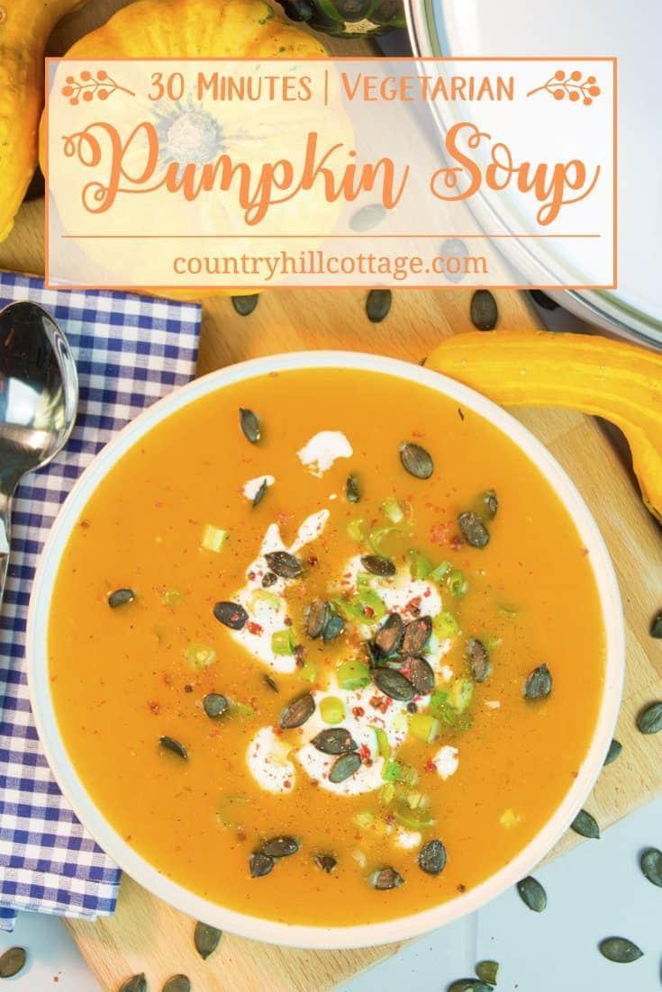 Pumpkin Soup | 30-Minute Autumn Soup Recipe