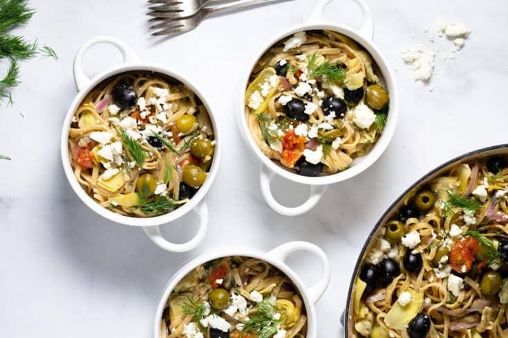 Mediterranean One Pot Pasta | Midwest Foodie