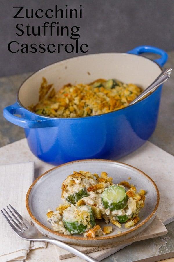 Zucchini Stuffing Casserole