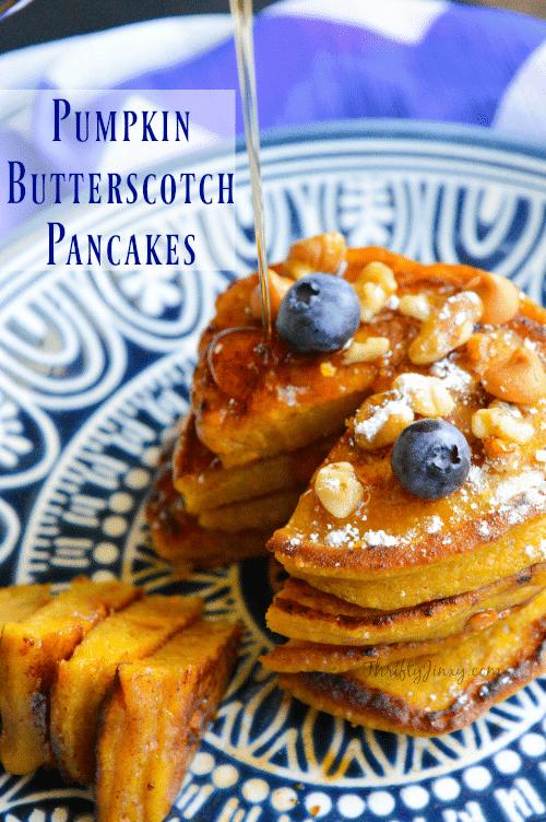Pumpkin Butterscotch Pancakes Recipe
