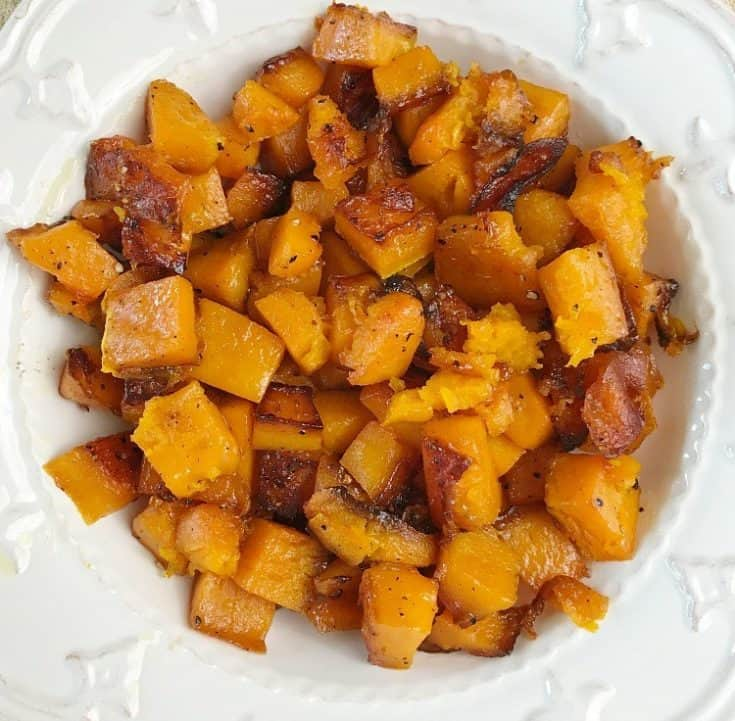 Simple Roasted Butternut Squash