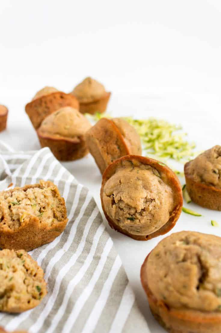 Easy and Delicious Healthier Zucchini Muffins Recipe