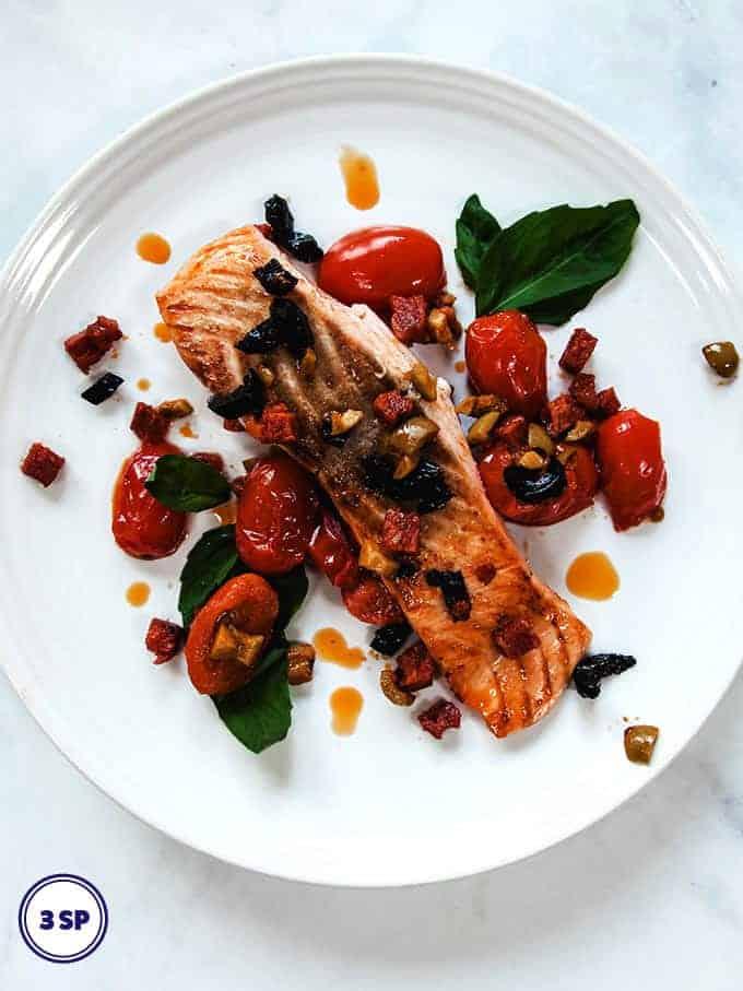 Chorizo Salmon | Weight Watchers